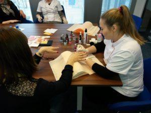 manicure, salon kosmetyczny mokotów