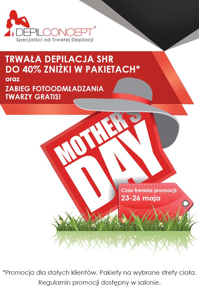 Promocja DepilConcept na Dzień Matki