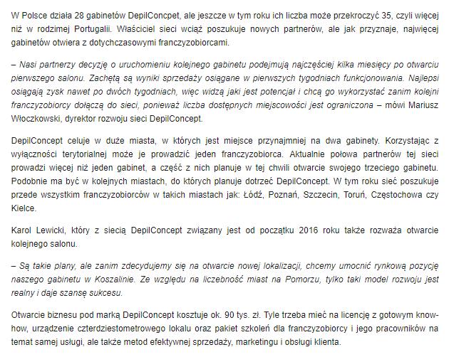 franczyza DepilConcept