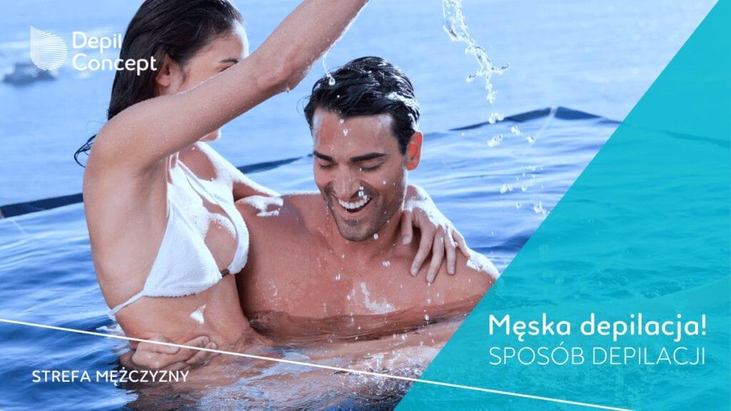 męska depilacja dla mężczyzn depilcocnept