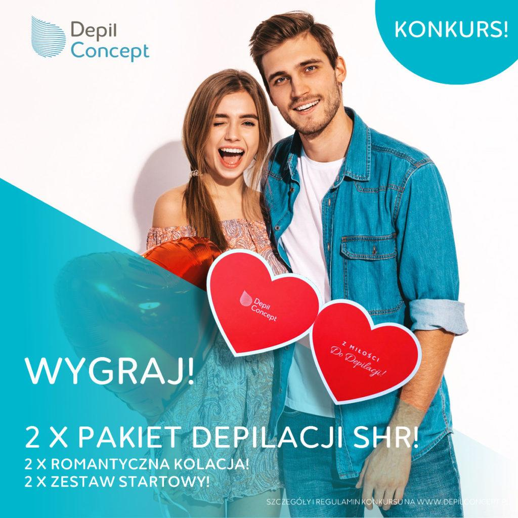 Konkurs Z miłości do depilacji DepilConcept