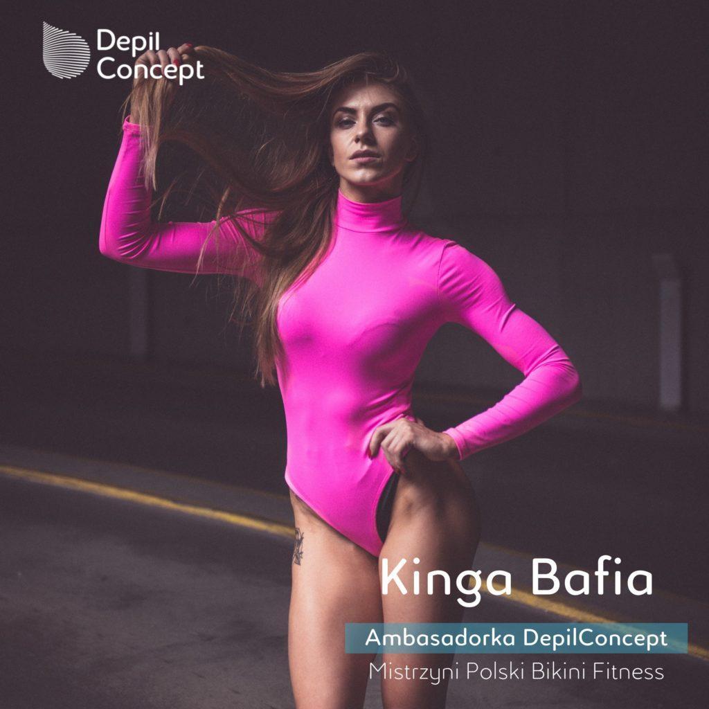 Mistrzyni Polski Bikini Fitness Kinga Bafia DepilConcept