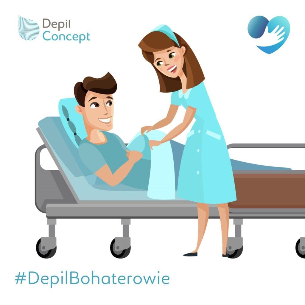 DepilBohaterowie Akcja pomocy lekarzom i pielęgniarkom