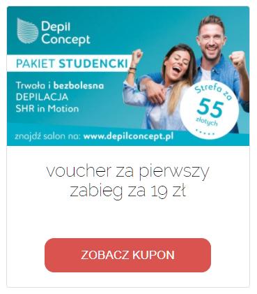 Kupon Starter Studencki DepilConcept