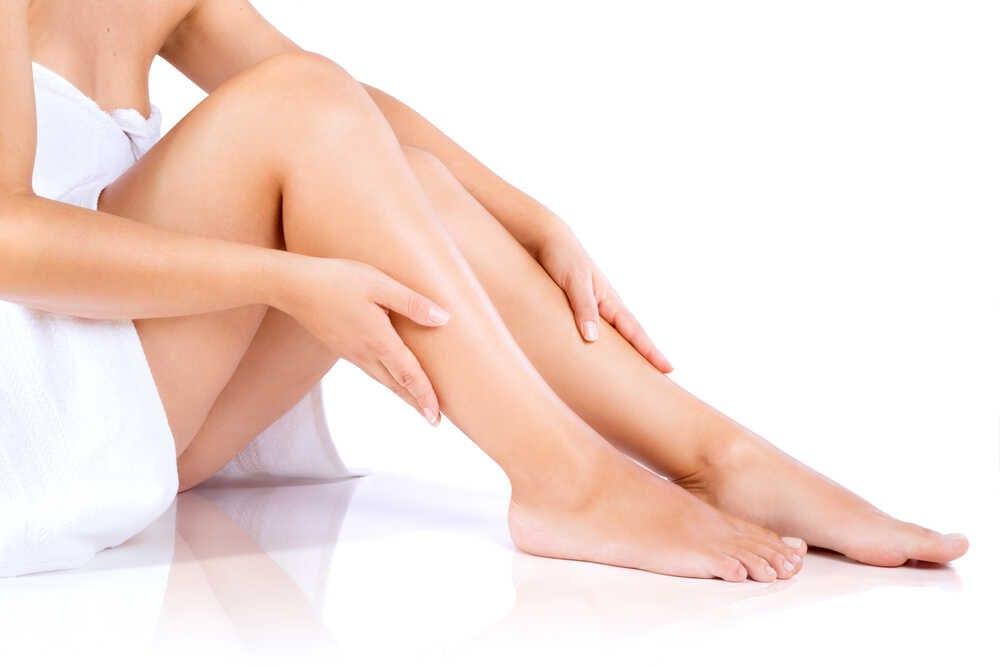 depilacja kobiecych nóg