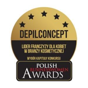 Lider Franczyzy Dla Kobiet w Branży Kosmetycznej DepilConcept Polska Polish BusinessWomen Awards